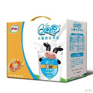 健固125ml*20 全聪 伊利QQ星儿童成长牛奶均膳