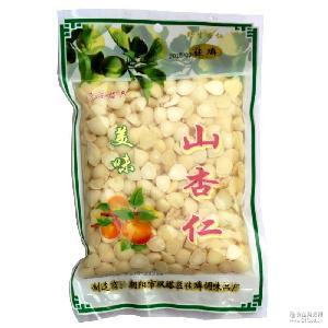 脱苦新鲜杏仁 250克 山杏仁鲜杏仁 做菜煲汤餐馆凉拌杏仁