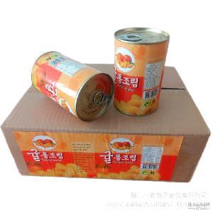 桔子罐头水果罐装厂家直供微商实体*招代理支持一件代发可贴牌
