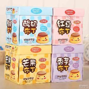 360g卡其诺酸奶布丁 香港进口果冻 30g*12粒精美礼盒 厂家直销