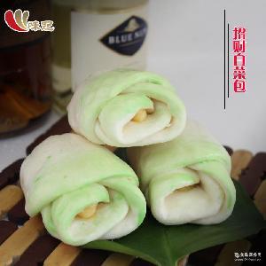 奶黄馅白菜包面点 招财奶黄白菜包 如意味道 330克*8包