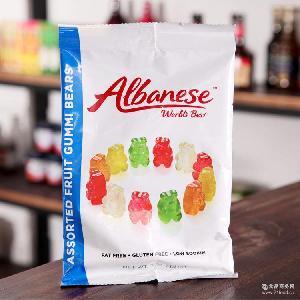 美国进口软糖 Albanese 奥本尼斯熊形果味软糖 缤纷糖果
