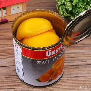 *水蜜桃/黄桃罐头 825克*24罐 *糖水蜜桃罐头 蛋糕装饰边桃
