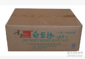 京日牌白豆沙 清水白芸豆豆沙 5KG原装 99%白芸豆 北京总代理