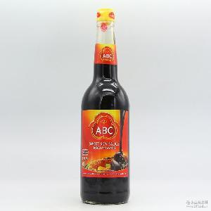 甜酱油调味酱 批发供应印尼进口ABC牌甜酱调味汁 调味品酱油620ml