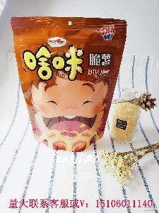 台湾进口膨化食品啥咪脆薯片 90g/包