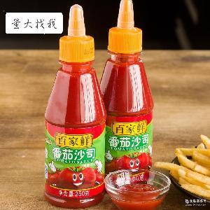番茄沙司番茄膏亨氏 烘焙原料番茄酱 百家鲜番茄酱250g*20瓶