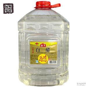 酸味辅料腌制 餐饮*批发 特大装酿造食醋 海天白米醋10.5L*2