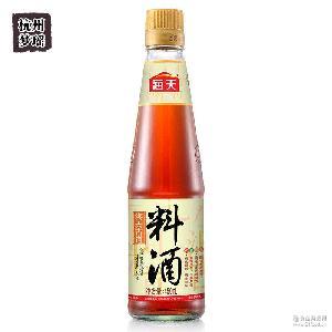 无防腐剂添加炒菜火锅凉拌 海天古道料酒450ml 香味浓郁去腥解膻