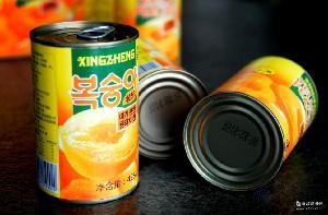 销量爆款铁罐 甘甜可口425g*12罐 批发砀山梨之源糖水黄桃罐头