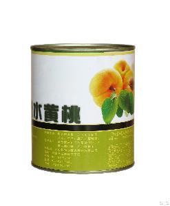 厂家直发优质碟牌糖水黄桃罐头一件24罐