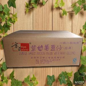 高品质烘焙产品* 20kg 批发供应 紫薯沙 京日紫甘薯豆沙馅料