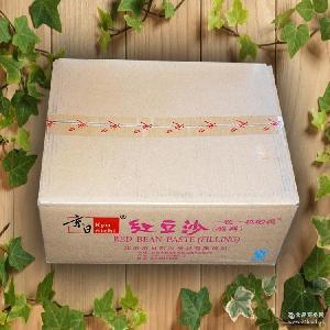 20kg 馅料 精品豆沙 高品质烘焙产品* 京日红豆沙 批发供应