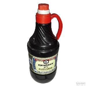 万字纯酿造酱油1.8L*6桶 昆山统万萬字0零添加日式料理生抽酱油