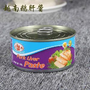 进口货源调味酱 直销越南鹅肝酱 一件代发正宗鹅肝酱