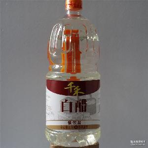不添加酒精5度食用醋泡苹果醋包邮 白醋千禾大米酿造1800mL