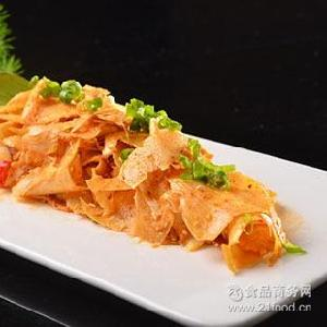 批发四川特产盐帮益旺香辣牛板筋零食熟食开袋即食微商货源268g