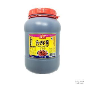 海天海鲜酱7kg装调料调味品酱料烧烤火锅菜肴佐料餐饮原料