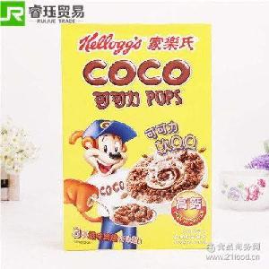 泰国家乐氏可可力健康营养谷物早餐350g进口麦片营养早餐