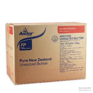 现货烘焙黄油批发 新西兰原装进口安佳大无盐奶油 代发 25kg箱装
