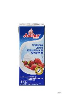 安佳淡奶油裱花动物性奶油易打发原装24*250ml