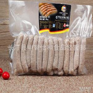 荷美尔烤肠 热狗肠 1kg 德国风味早餐肠 荷美尔纽伦堡风味香肠