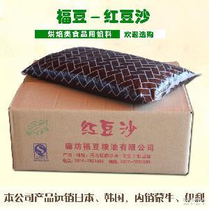 供应红豆沙 福豆粮油厂家直销淘乐雅月饼沙包烘培九州娱乐官网原料红豆沙