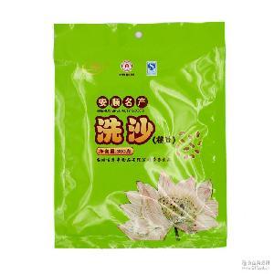 贵州安顺百花串洗沙豆沙馅夹沙传统工艺