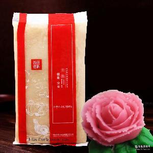 豆沙包汤圆粽子月饼馅 苏旺水性韩式裱花练习白豆沙馅料 烘焙原料