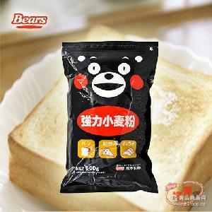 面包面条饺子粉 高筋粉 600g 熊本强力小麦粉 日本原装进口