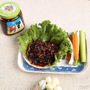 【热卖】200g干煸辣肉丝 下饭拌面佐餐调味品 开盖即食调味辣椒酱