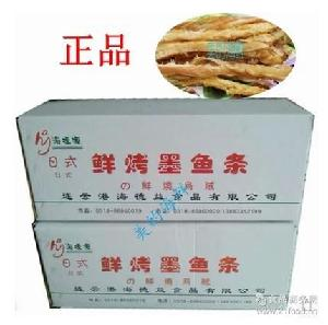鲜烤墨鱼条 10斤 正品 鱿鱼条 海味零食 干度好 即食 海德益