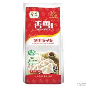 高筋饺子粉小麦粉2.5kg麦芯饺子粉包子馒头粉 5斤饺子面粉