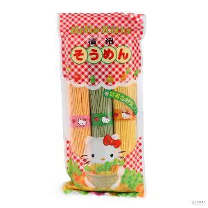 多彩蔬菜婴儿宝宝面条彩色细面挂面宝宝辅食300g 日本进口咔内滋