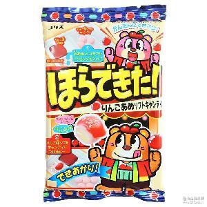 日本进口零食 DIY手工糖果 coris可利斯沾酱苹果味软糖36g