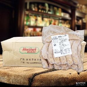荷美尔生煎西班牙香肠 烧烤原料 烤肠 西班牙风味的香肠1kg 香肠