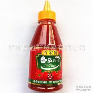 烘焙原料 番茄酱 250g 番茄膏亨氏 百家鲜番茄酱 番茄沙司