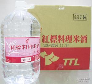 TTL公賣局紅標料理米酒6公升 坐月子 台湾公卖局红标料理米酒