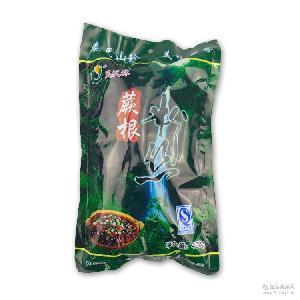 副食调味料品批发 火锅宽粉带 陕西特产天然野生大袋装蕨根粉