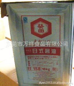 料理* 18L 特价批发 葵田(万字)浓口日式酱油 桶装
