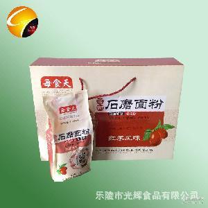 优质面粉l礼盒 现货供应【图】 水饺粉 富硒面粉 石磨面粉