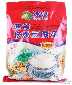 豆腐花512g冲饮豆奶制品 低糖 包邮冰泉速食核桃 维C 健康豆乳制