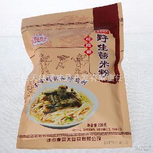 大量供应鸿粉知己野生菌米粉 238g可冲泡不含防腐剂野生菌干米粉