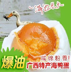 广西特产红树林海鸭蛋 正宗北部湾海鸭蛋咸鸭蛋 咸鸭蛋礼盒装批发