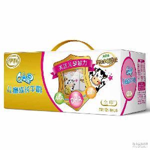 伊利牛奶QQ星儿童成长牛奶 质量保证 全聪190ml*15盒 儿童牛奶