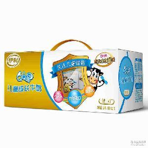 QQ星儿童成长牛奶健固190ml*15/提 儿童营养牛奶 正品保证 伊利