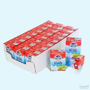 法国进口兰特Lactel(总统)全脂纯牛奶200ml*24盒利乐装批发