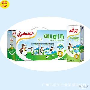 安佳儿童牛奶礼盒190ml*12/提独立礼盒装新包装新西兰原装进口