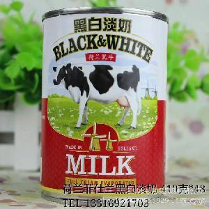 全脂 400g每罐 原装进口正品行货 荷兰黑白淡奶 港式奶茶咖啡专用