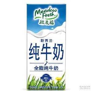 新西兰进口纯牛奶 1L 营养早餐 儿童奶12盒/件 全脂牛奶 纽麦福